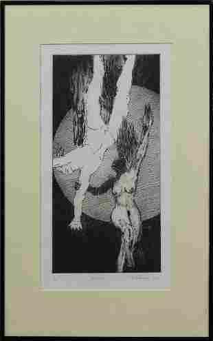 Print, Falling III