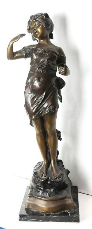 Sculpture, Young Girl