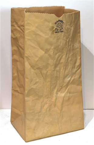 Sculpture, Brown Lunch Bag