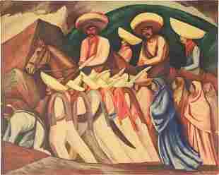 Print, Jose Clemente Orozco