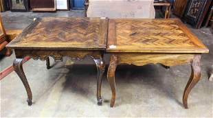 Pair of French Provincial style occasional tables