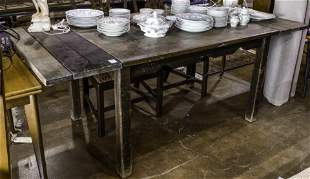 A Spanish Revival dining table