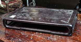 Chinese hardwood table form wood stand