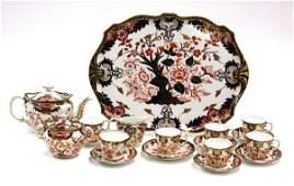 6048: Royal Crown Derby porcelain tea service