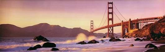 6153: Photo, Peter Lik, Golden Gate Bridge