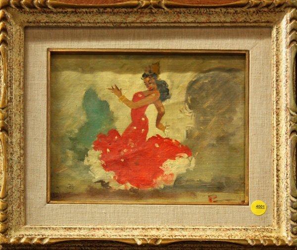 4001: Painting, Flamenco, Spanish, Puente