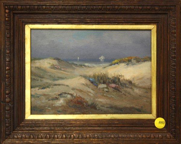 4003: Painting, Sand Dunes, Beach, Seascape