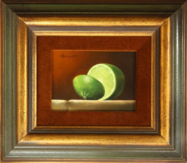 2000: Painting, Gerald Stinski, Still Life with Lime