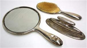 2753 Gorham sterling silver vanity set