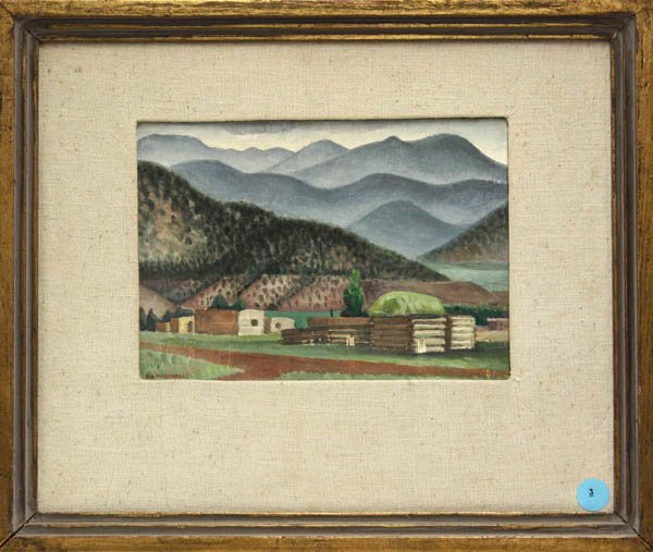 3: Painting, Dorothy Wagner Puccinelli, Talpa New