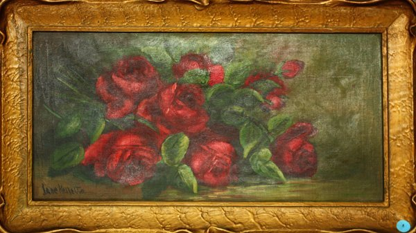 4: Painting, Still Life with Red Roses