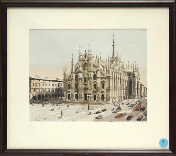 9: Watercolor, Herbelot, Milano