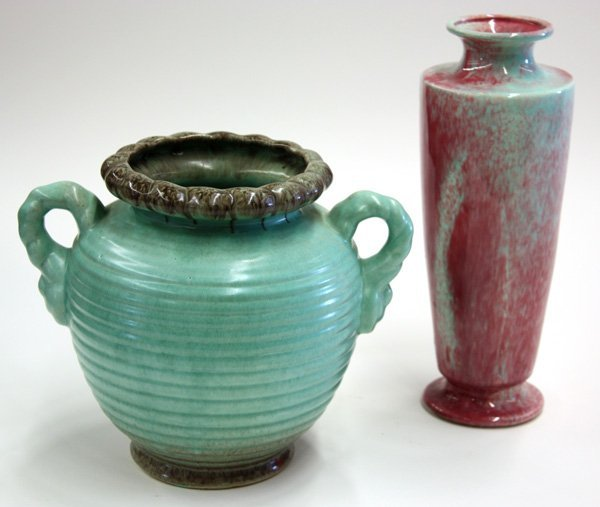 15: Art pottery vases, 20th century
