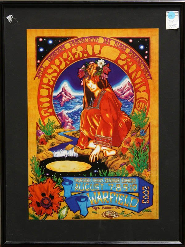 241: Poster, Warfield, Counting Crows, Widespread Panic