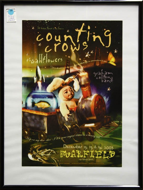 241: Poster, Warfield, Counting Crows, Widespread Panic - 2