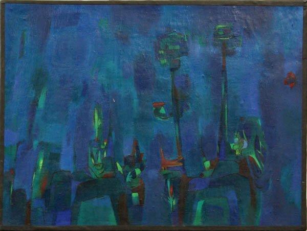 426: Painting, Reichman, Californian