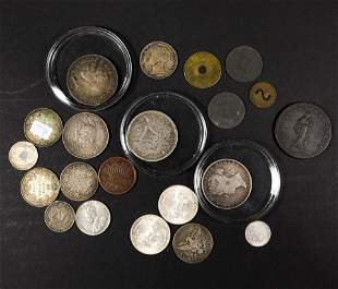(lot of 20) Miscellaneous Foreign coins