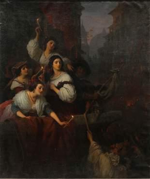 Painting, Constantin Johannes Franz Cretius