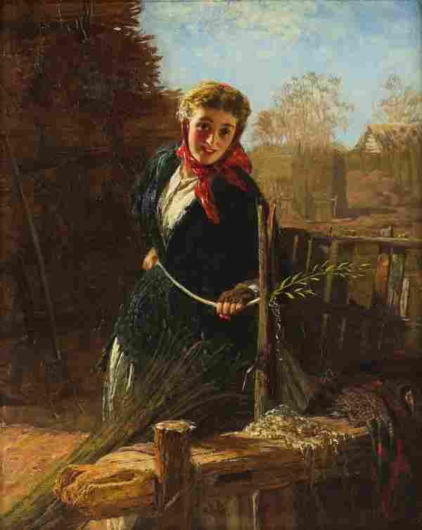 Painting, George Elgar Hicks