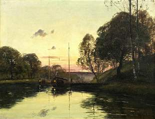 Painting, Eugene Galien-Laloue