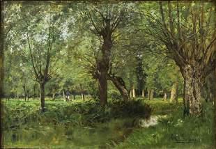 Painting, Edmond Charles Joseph Yon