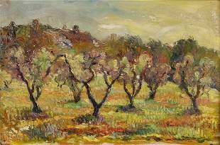 Painting, Follower of Vincent Van Gogh