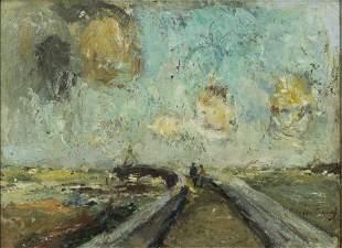Painting, Albert Crahay