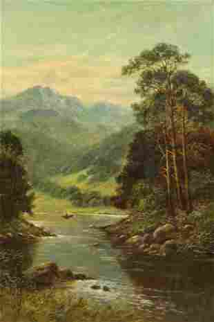 Painting, Charles Leader