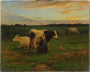 Painting, John Carleton Wiggins