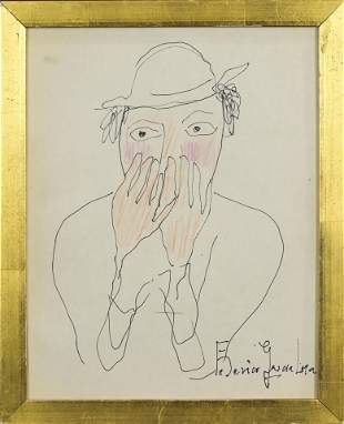 Work on Paper, Federico Garcia Lorca