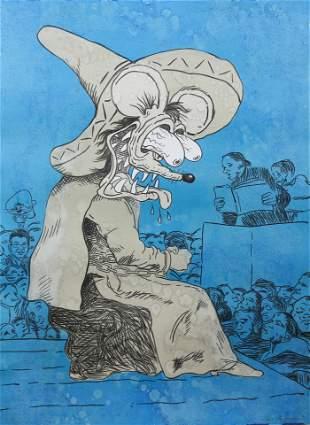 Print, Enrique Chagoya