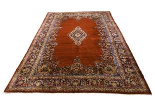 Persian open field Sarouk carpet