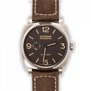 A titanium wristwatch, Radiomir, Panerai