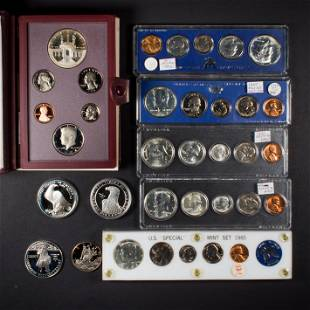 Silver Mint and Commemorative Sets