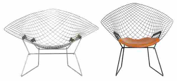 (lot of 2) Harry Bertoia for Knoll chairs