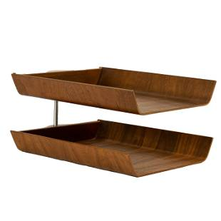 A Knoll International letter tray