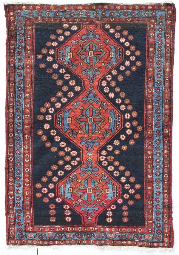 707: South Persian Luri medallion rug