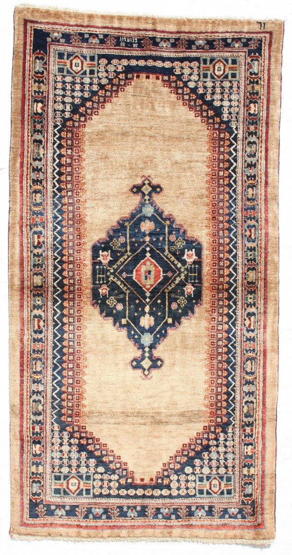 711: Gabbeh medallion rug