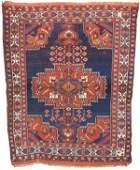 720: Afshar medallion rug