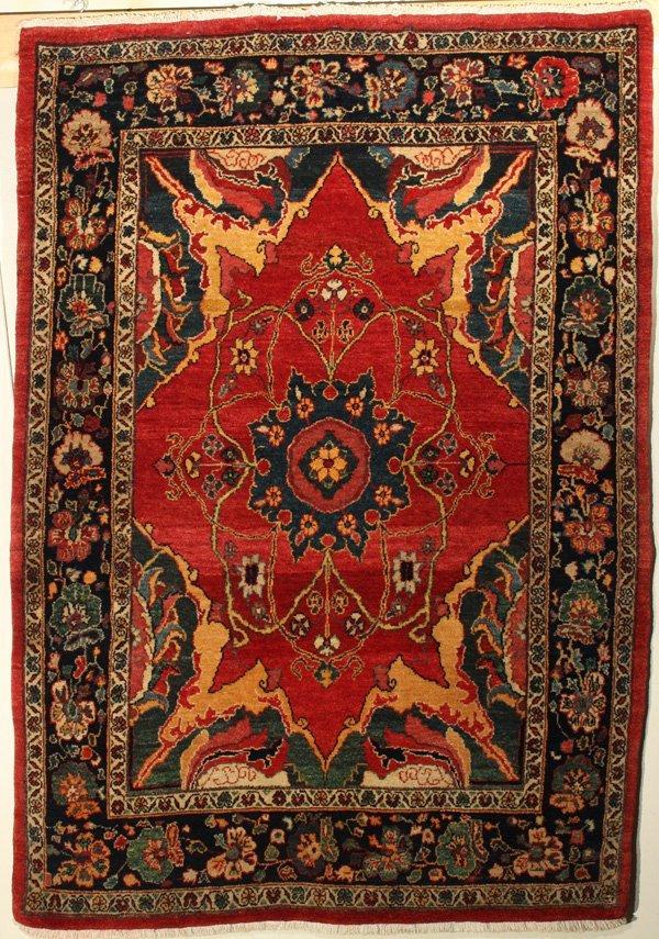 722: Fine Bijar Persian carpet