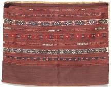 883: Yomut flatweave Juval; Turkimanistan