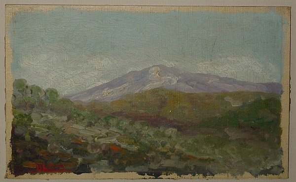 6002: Oil painting, N.L. Dow