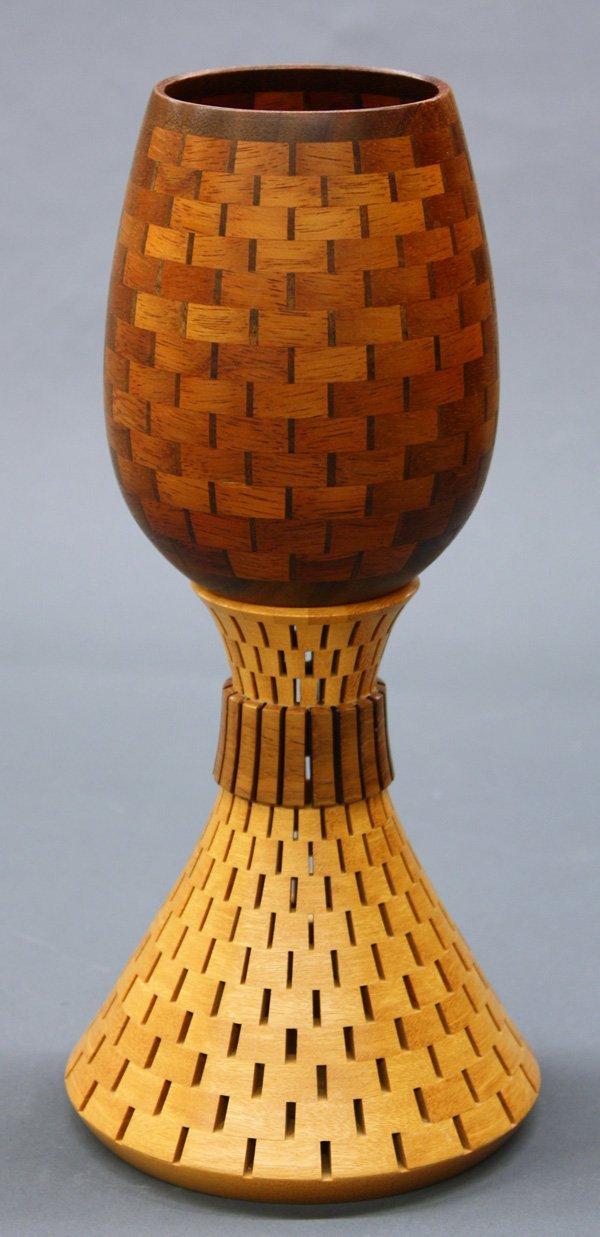 6005: Sugiyama Yoshiyuki contemporary wood turned bowl