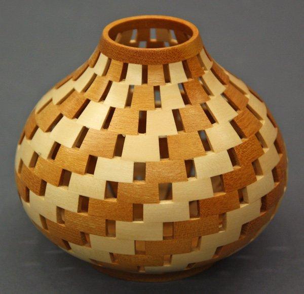 6006: Sugiyama Yoshiyuki wood turned bowl