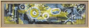 6062: Painting, Gordon Onslow Ford, Dragon Play