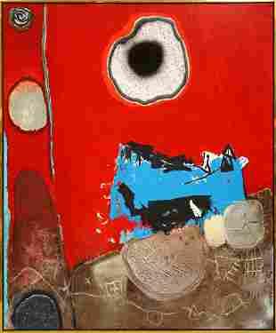 6063: Mixed media, Enrico Donati, Eclipse Anee 2000