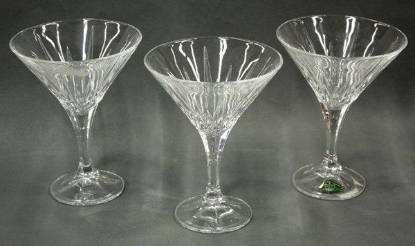 6199: Shannon crystal martini glasses - 2