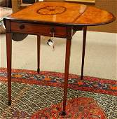 6378 George III mahogany pembroke table