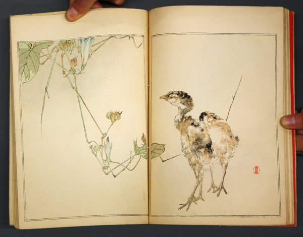 6545: Japanese Printed Book, Watanabe Shotei, 1890 - 6