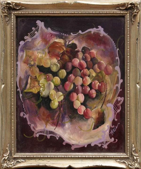 4000: Painting, Thalia, Still Life with Grapes